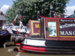 Boats at the Chester Rally