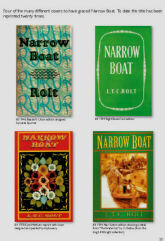 Narrow Boat - a page from the Bibliography