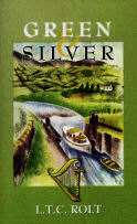 Green and Silver - new book cover