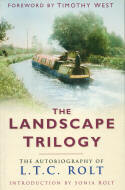 Cover of 'Landscape Trilogy' - LTC Rolt's autobiography